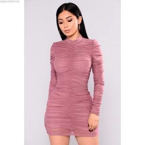 Fashion Nova Paparazzi Ruched dress